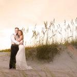 11-emerald-isle-wedding-couple-on-beach