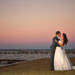 14-wedding-couple-on-emerald-isle-beaches-after-wedding-ceremony