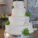 Elegant Cake with Coastal Theme
