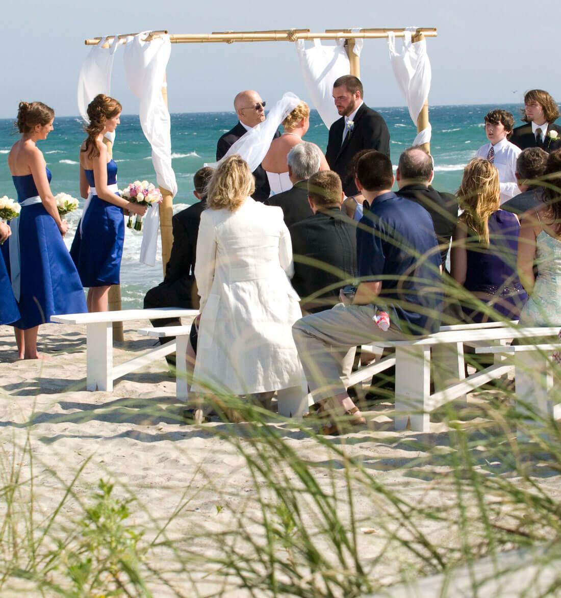 Beach Wedding in North Carolina