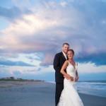 Newlyweds in Emerald Isle NC