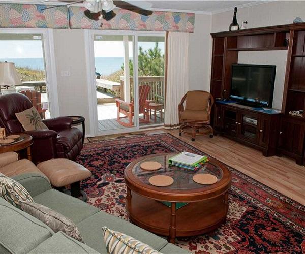 Blue Heaven Vacation Rental Living Area