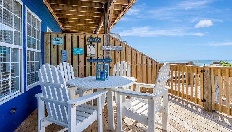 Beach Bingo West - Deck