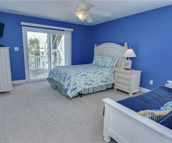 Blue Shore Cabana Bedroom