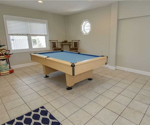 Blue Shore Cabana Game Room