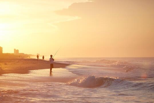 Fishing in Ocean Emerald Isle NC