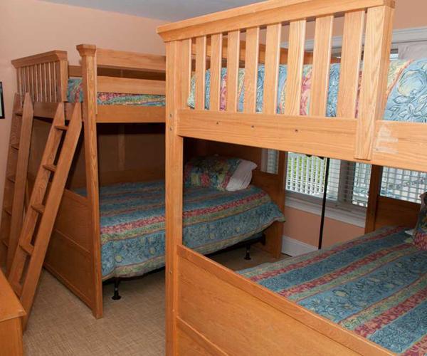 Featured Property A Gathering Place - Bedroom 3 Bunkbeds