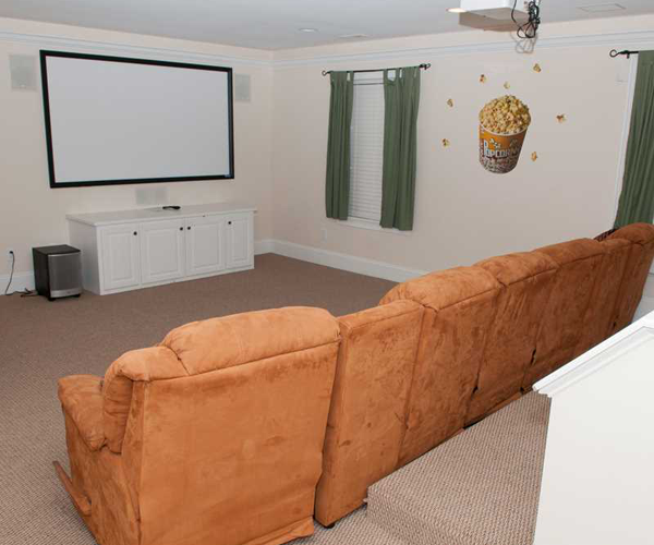 Featured Property A Gathering Place - Media Room