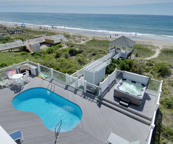 Featured Property A Gathering Place - Pool and Beach Views