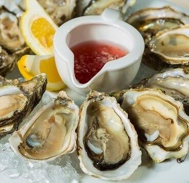 Oysters Emerald Isle NC