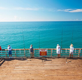 Pier Fishing - Crystal Coast