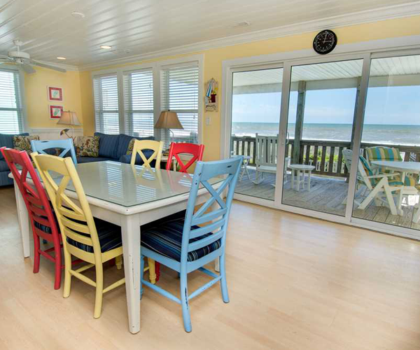 Featured Property Paws in The Sand - Dining