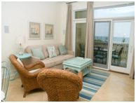 Grande Villas 1-H Living Room