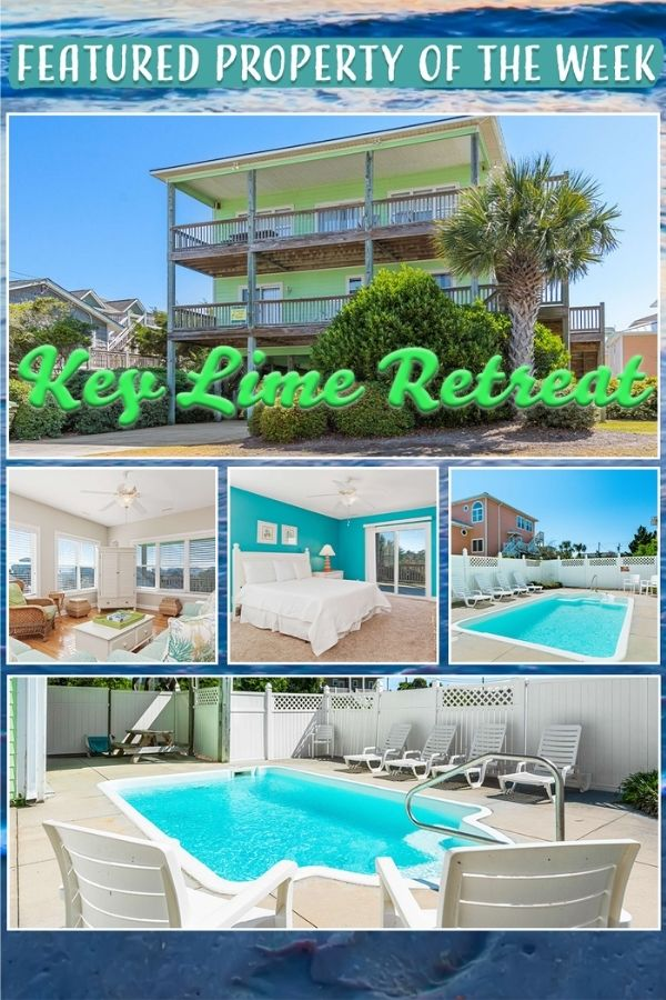 Key Lime Retreat - Emerald Isle Realty Featured Property of the Week