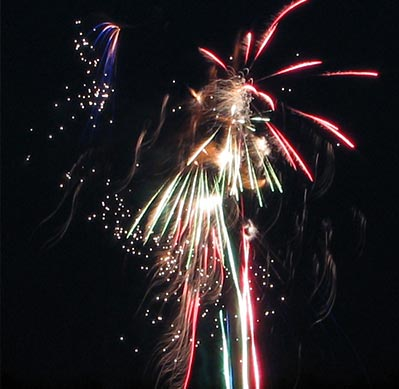 Emerald Isle's 4th of July Fireworks Show