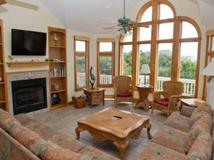 Windows on the Sea Living Room