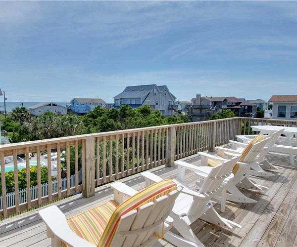 Casa de la Playa Vacation Rental - Deck