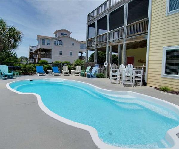 Casa de la Playa Vacation Rental - Pool