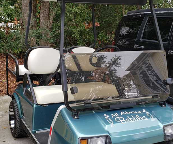 Featured Property of The Week All About Bubbles - Golf Cart