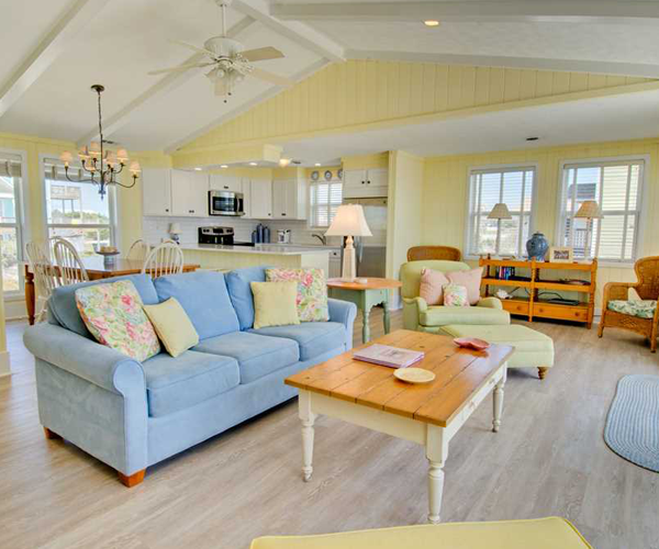 Featured Property Summer Blue - Living Room 2