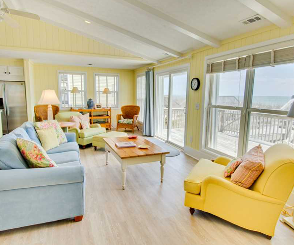 Featured Property Summer Blue - Living Room
