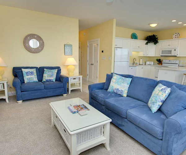 Featured Property Ocean Club B201 - Living Room 2