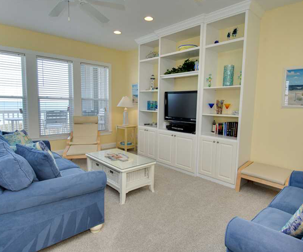 Featured Property Ocean Club B201 - Living Room