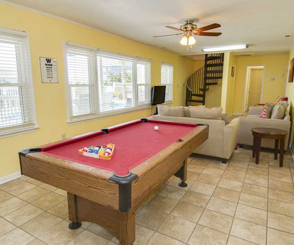 Featured Property Wine Down - Game Room