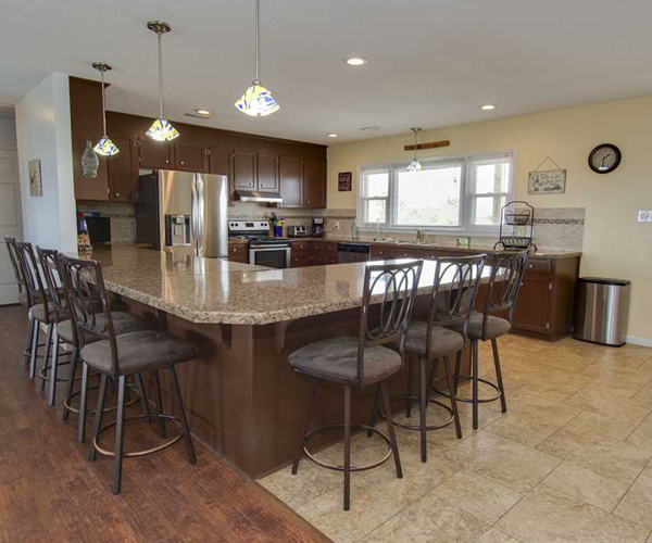 Featured Property Wine Down - Kitchen
