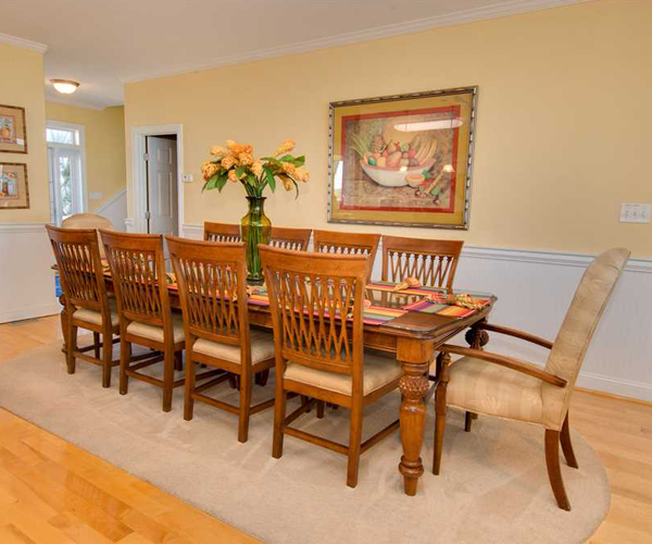 Featured Property Casa Bianco - Dining Room