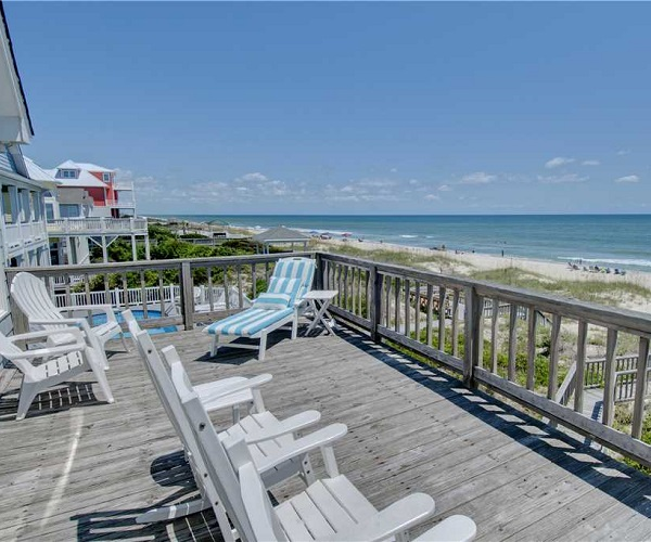 Villa Capri East Vacation Rental - Beach View