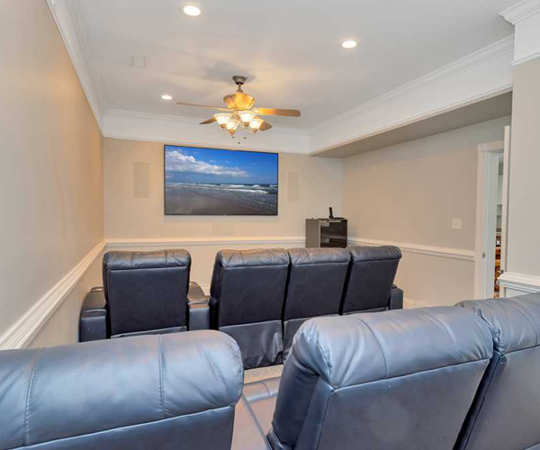 Featured Property Sail Away - Movie Room