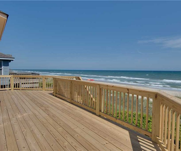 Nonno's Dream Deck | Pine Knoll Shores Vacation Rental | Emerald Isle Realty