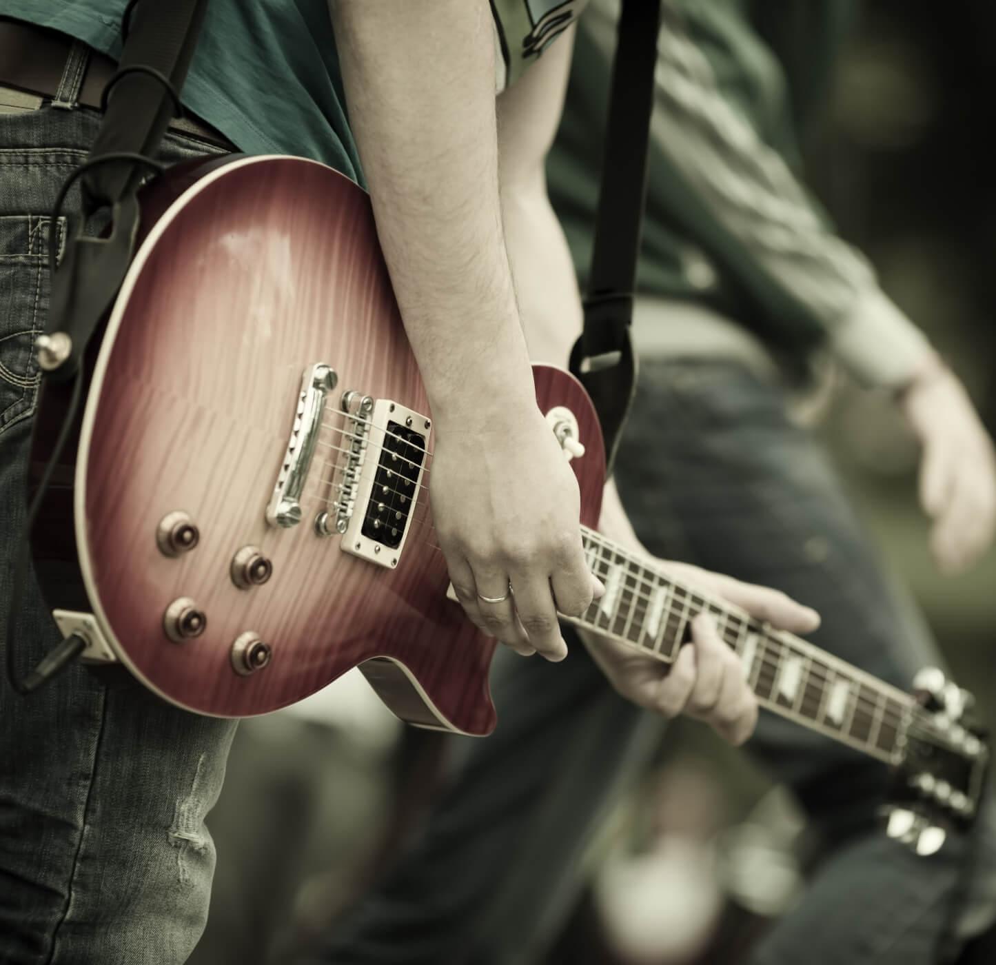 Band Guitar for EmeraldFest Event