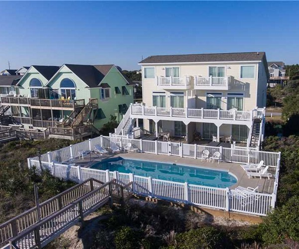Cool Nights West Duplex Vacation Rental in Emerald Isle