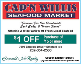 Seafood Market Coupon