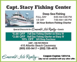 Capt Stacy Fishing Center Coupon