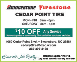 Cedar Point Tire Coupon Swansboro NC