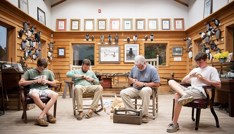 Make a stop at the Core Sound Waterfowl Museum & Heritage Center