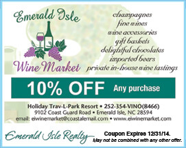 Emerald Isle Wine Market Coupon