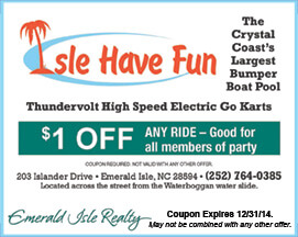 Isle Have Fun ride coupon