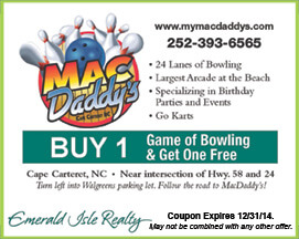 MacDaddy's Bowling & Arcade Coupon