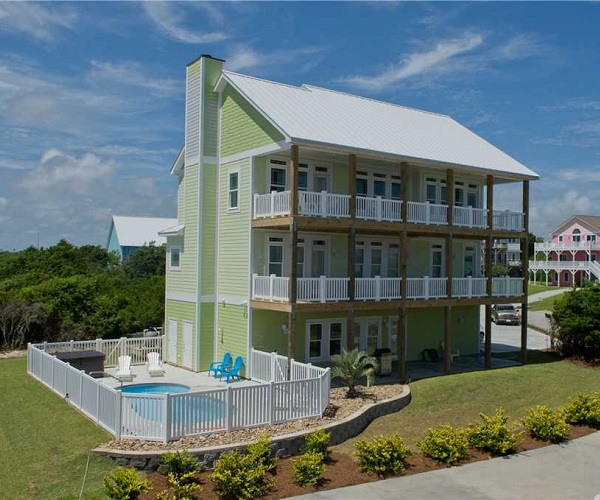 Sea Heaven - Middle Row Vacation Rental in Emerald Isle, NC