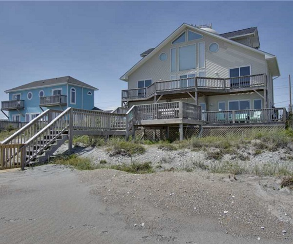Seventh Heaven - Oceanfront Vacation Rental in Emerald Isle, NC