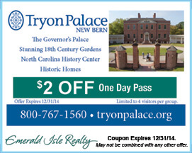 Tryon Palace Coupon New Bern NC
