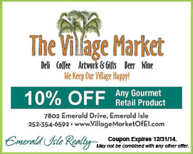 The Village Market Gourmet Retail Product Coupon Emerald Isle NC