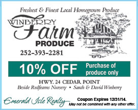 Winberry Farm Produce Coupon