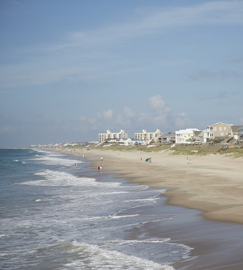 Ocean Views from Emerald Isle Beaches