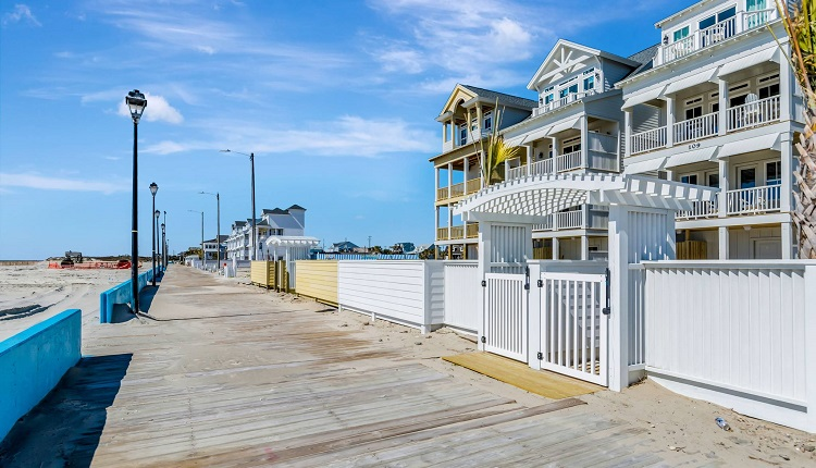 Stroll the Boardwalk in Atlantic Beach, NC