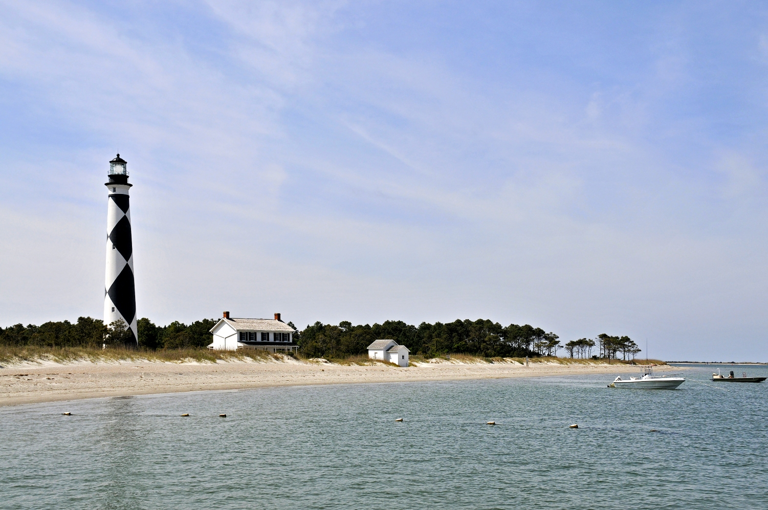 8-21-2014 Camping - Cape Lookout Lighthouse